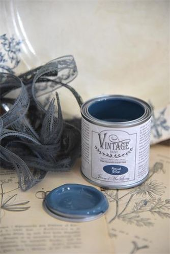 "Vintage Chalk Paint ""Royal blue"" 100ml"