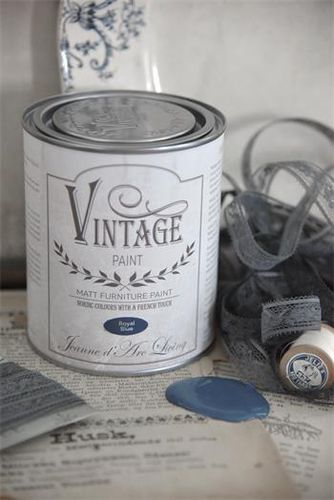 "Vintage Chalk Paint ""Royal blue"" 700ml"